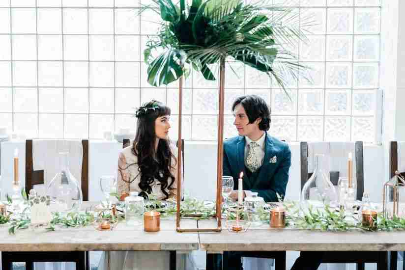 Lets Bee Together - INDUSTRIAL TROPICAL STYLED SHOOT IN SHEFFIELD UK